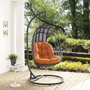 Whisk Swing Chair with Stand by Modway
