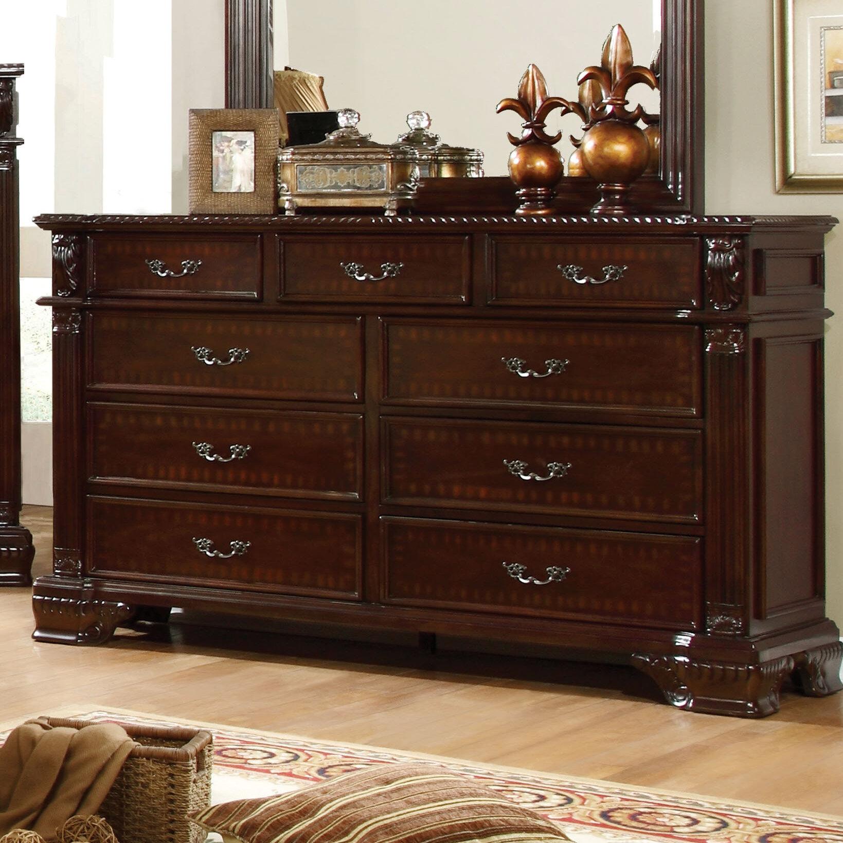 Picture of: Astoria Grand Georgeson 9 Drawer Dresser Wayfair
