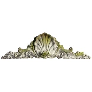 Scallop Over Door Wall Decor by OrlandiStatuary