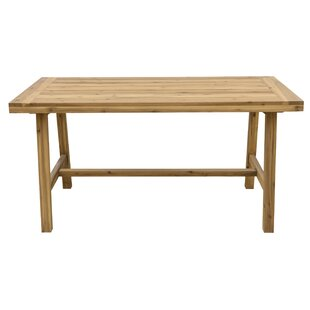 Macedonia Patio Wooden Dining Table by Mi..