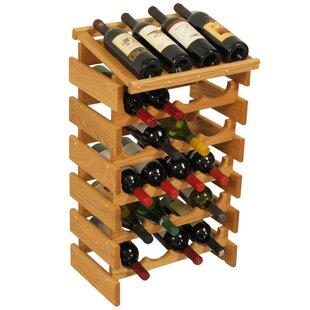 Dakota 24 Bottle Floor Wine Rack by Woode..