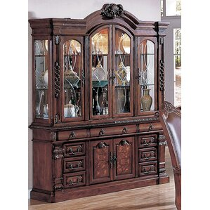 Arthur Lighted China Cabinet by Wildon Ho..