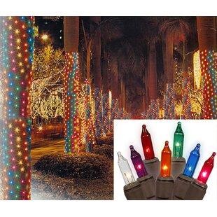 Vickerman Christmas Net Style Tree Trunk Wrap Light