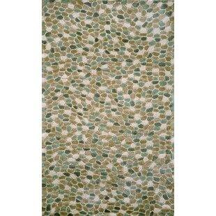 Nelda Pebbles Blue Indoor/Outdoor Area Rug