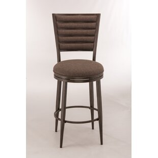 Lelia 26 Swivel Bar Stool Latitude Run