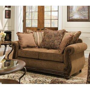 Bridgette Loveseat by Simmons Upholstery by Fleur De Lis Living