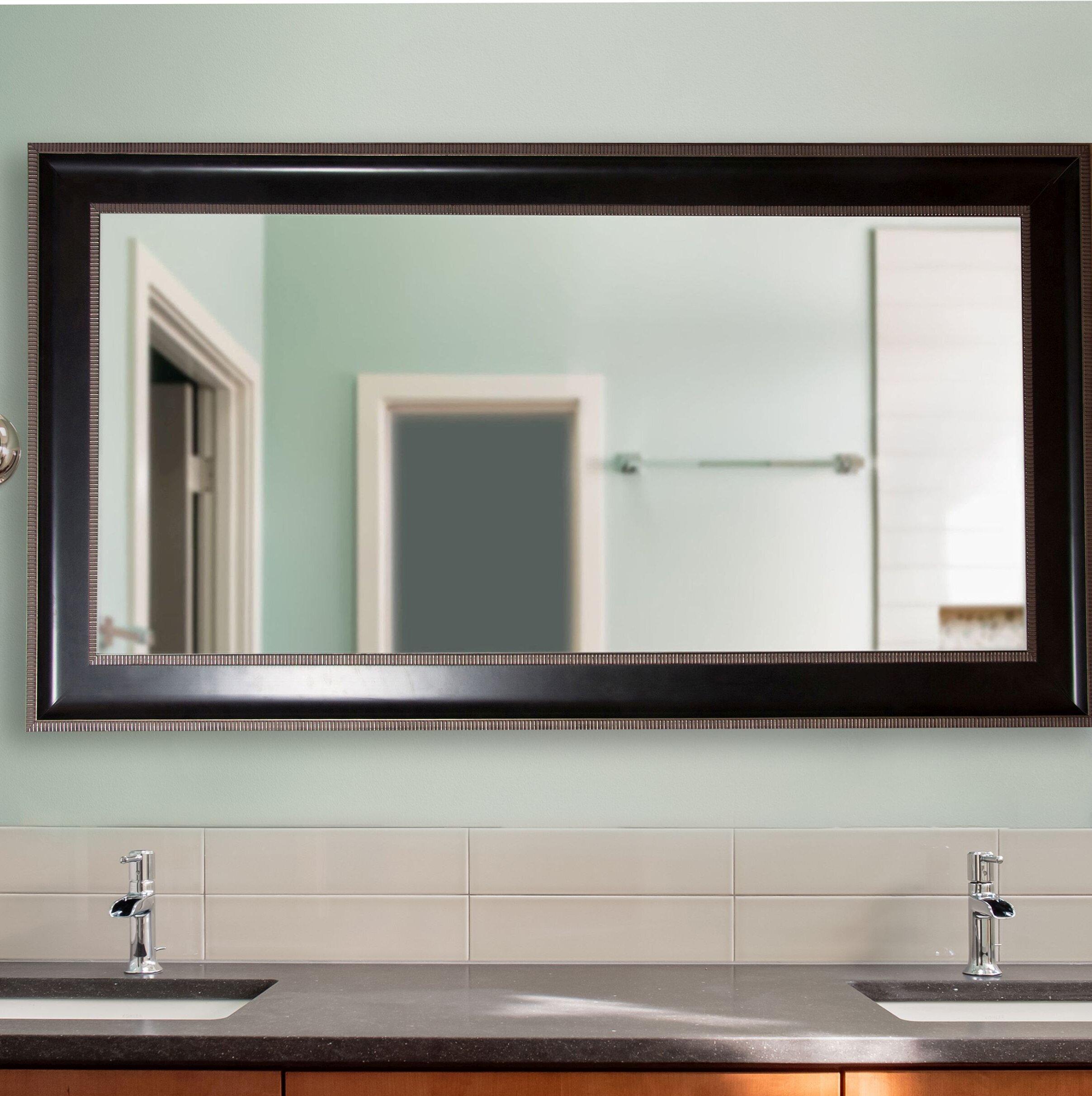 Black Charlton Home Vanity Mirrors You Ll Love In 2021 Wayfair