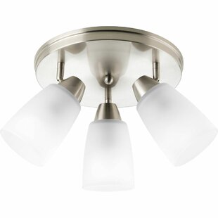 Charleston 3-Light Semi-Flush Mount
