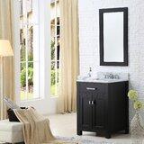 Minnetrista 24 Single Bathroom Vanity Set with Mirror by Andover Mills™