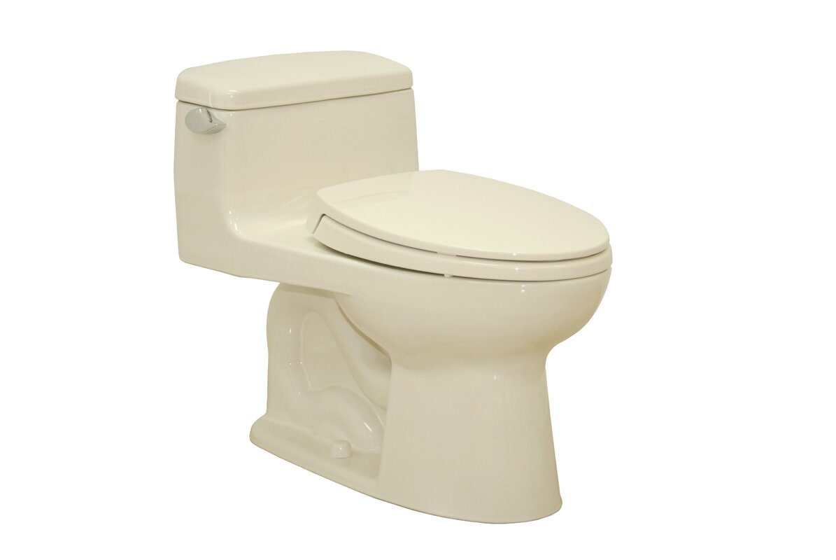 Toto Supreme 1.6 GPF Elongated One-Piece Toilet & Reviews | Wayfair