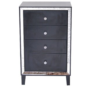 Caitlynne 4 Drawer Accent Chest by House of Hampton