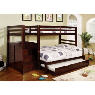 Find for Farview Twin over Full Bunk Bed with Drawer by Harriet Bee Reviews (2019) & Buyer's Guide