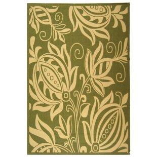 Laurel Olive/Natural Indoor/Outdoor Area Rug