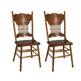 Acadian Double Press Back Side Chair (Set of 2) Alcott Hill