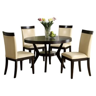 Latitude Run Connor 5 Piece Dining Set