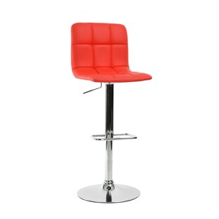 Carvalho Adjustable Height Bar Stool by O..