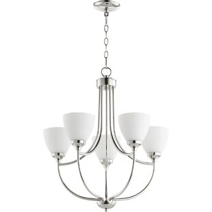 Quorum Enclave 5-Light Shaded Chandelier