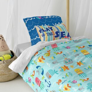 Wilibald 150 TC Duvet Cover Set By Zoomie Kids