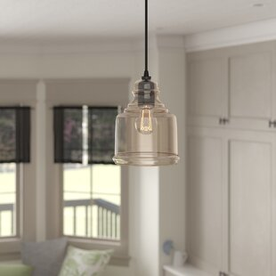 Gracie Oaks Pruett Modern 1-Light Bell Pendant