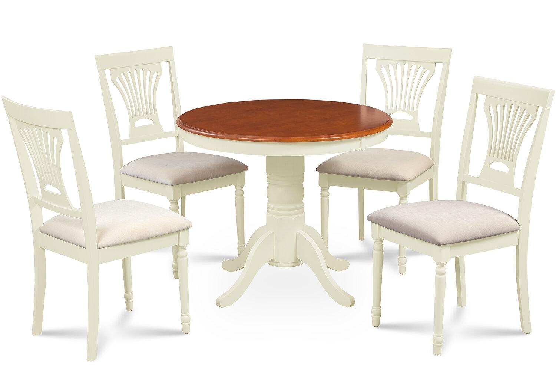 Alcott Hill Cedarville Contemporary 5 Piece Wood Dining Set Wayfair