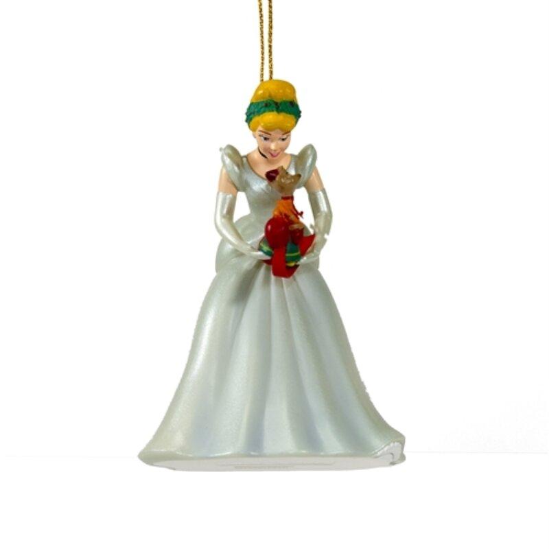 - ALEKO Disney Cinderella Christmas Ornament Hanging Figurine Wayfair