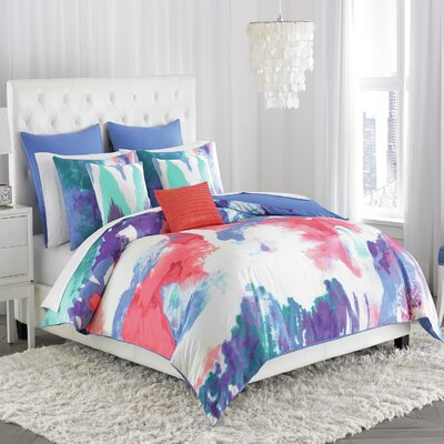 Painterly Duvet Cover Amy Sia Size: King