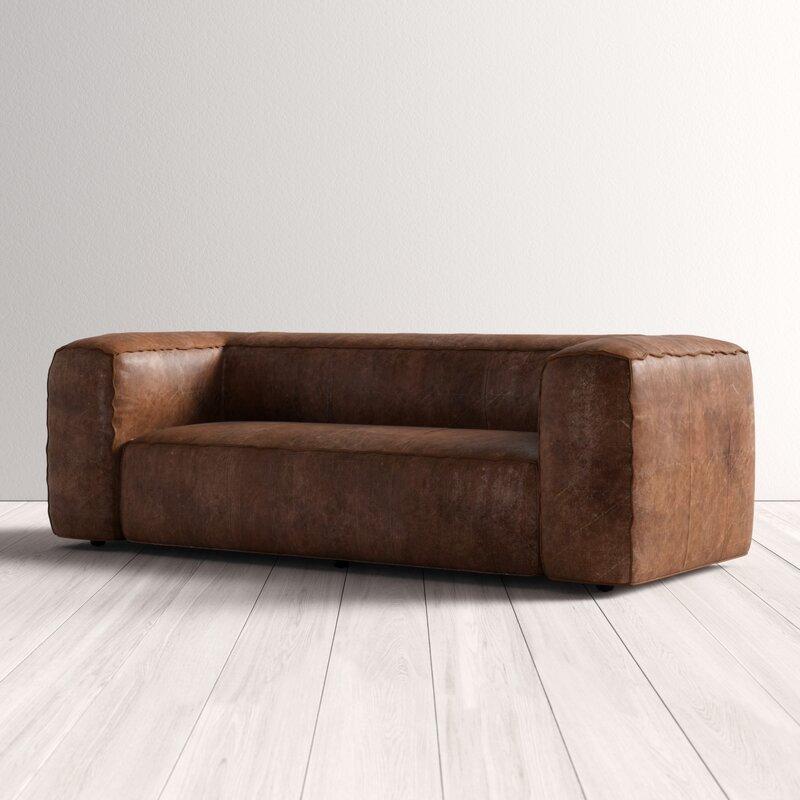 Analise Leather Sofa