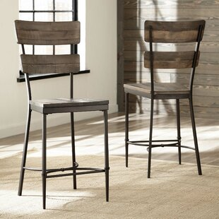 Cathie 25 Bar Stool (Set of 2) Gracie Oaks