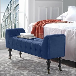 Sanders Upholstered Bench by Mercer41