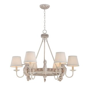 Highland Dunes Lula Seahorse 6-Light Shade Chandelier