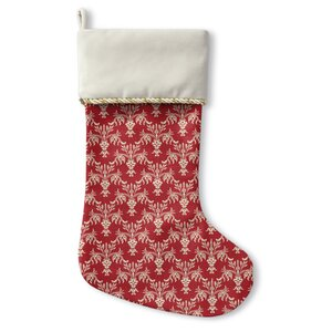 Christmas in Plaid Stocking