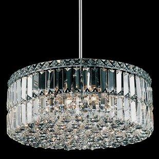 Willa Arlo Interiors Navya 8-Light Crystal Chandelier