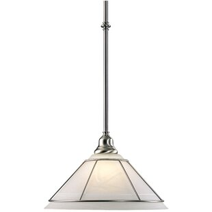 Dolan Designs Craftsman 1-Light Cone Pendant