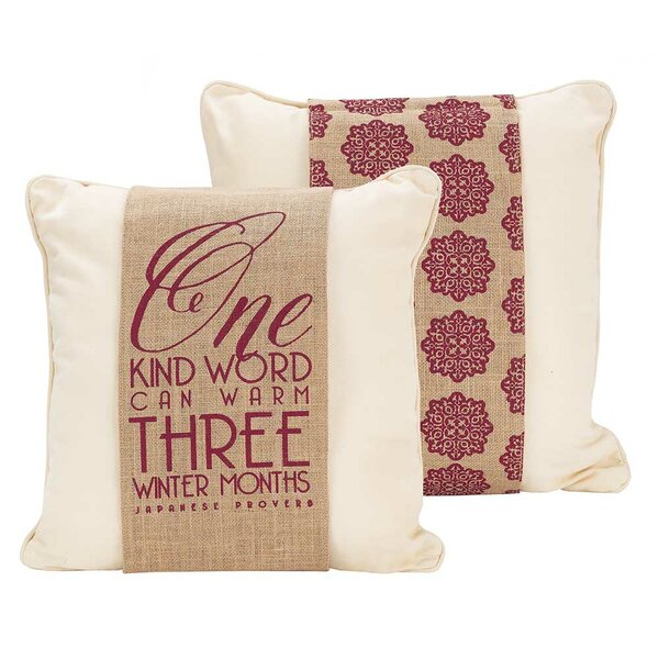 Decorative Pillows With Words Wayfair