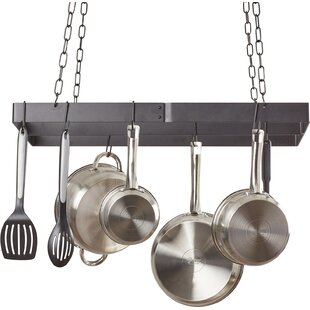 Ceiling Mount Pot Rack with Centerbar