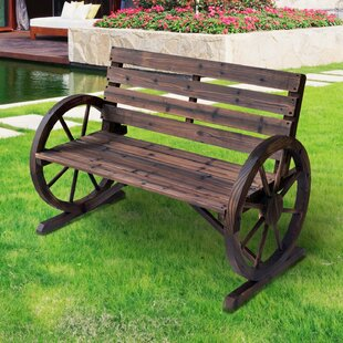 Twehues Wooden Bench By Sol 72 Outdoor