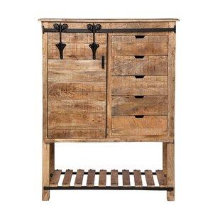 Marinez Restoration Kitchen Storage 1 Door Accent Cabinet by Gracie Oaks