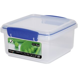 Klip It 40 Oz. Food Storage Container