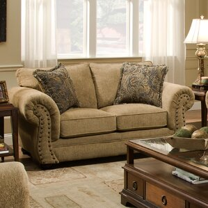 Simmons Upholstery Channahon Loveseat by Andover Mills