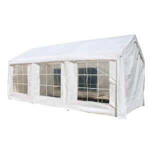 10 Ft. W x 20 Ft. D Metal Party Tent by ALEKO
