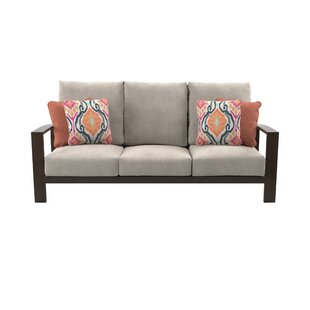 Jay Patio Sofa with Cushions