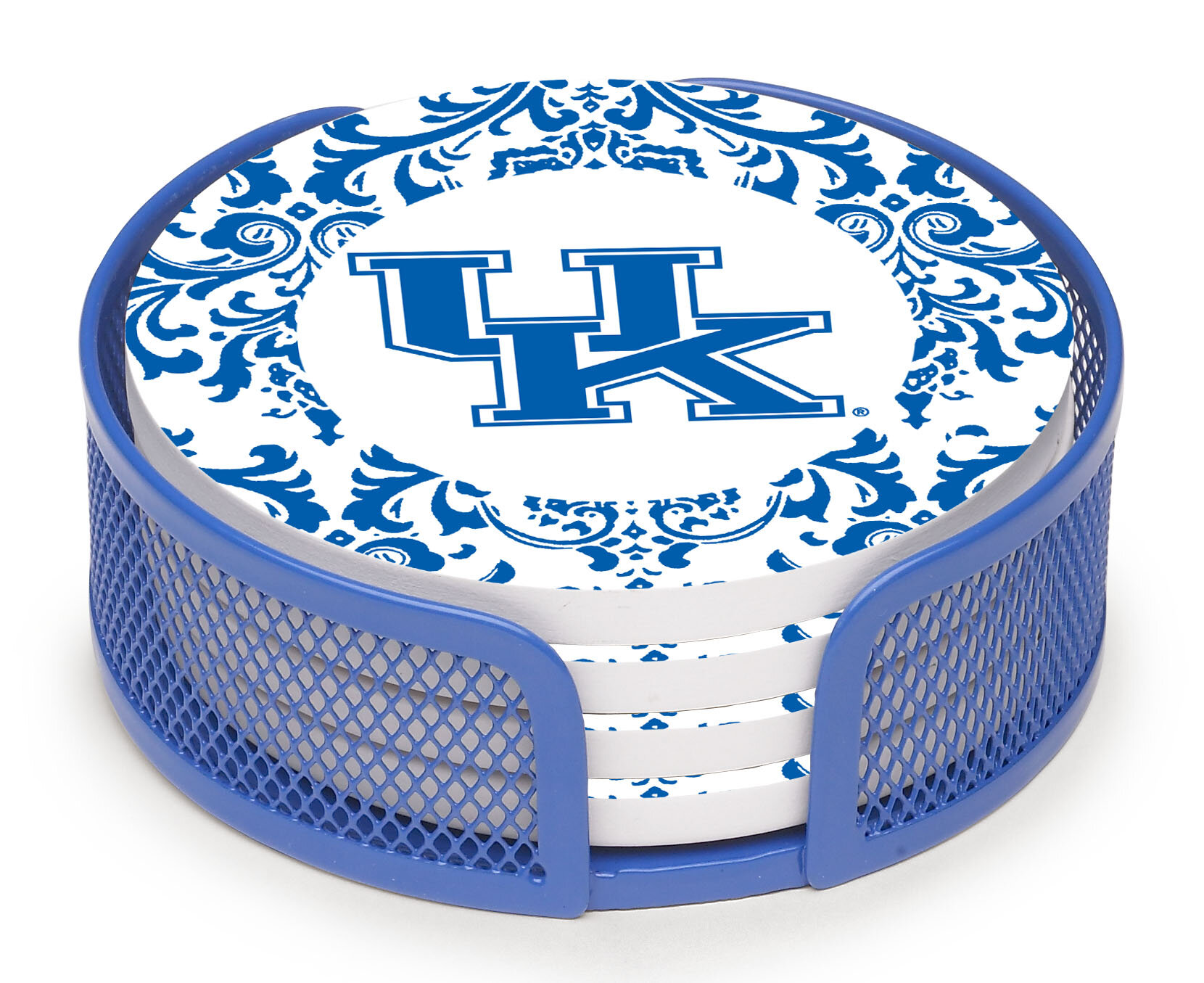 Thirstystone University Of Kentucky Collegiate Gift 5 Piece Coaster Set With Holder Wayfair