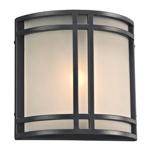 Ebern Designs Malmesbury 1-Light Outdoor Flush Mount