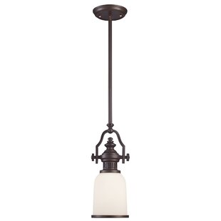 Constance 1-Light Bell Pendant by Darby Home Co