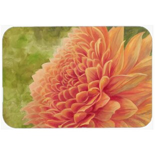 Floral Glass Cutting Board By Caroline's Treasures