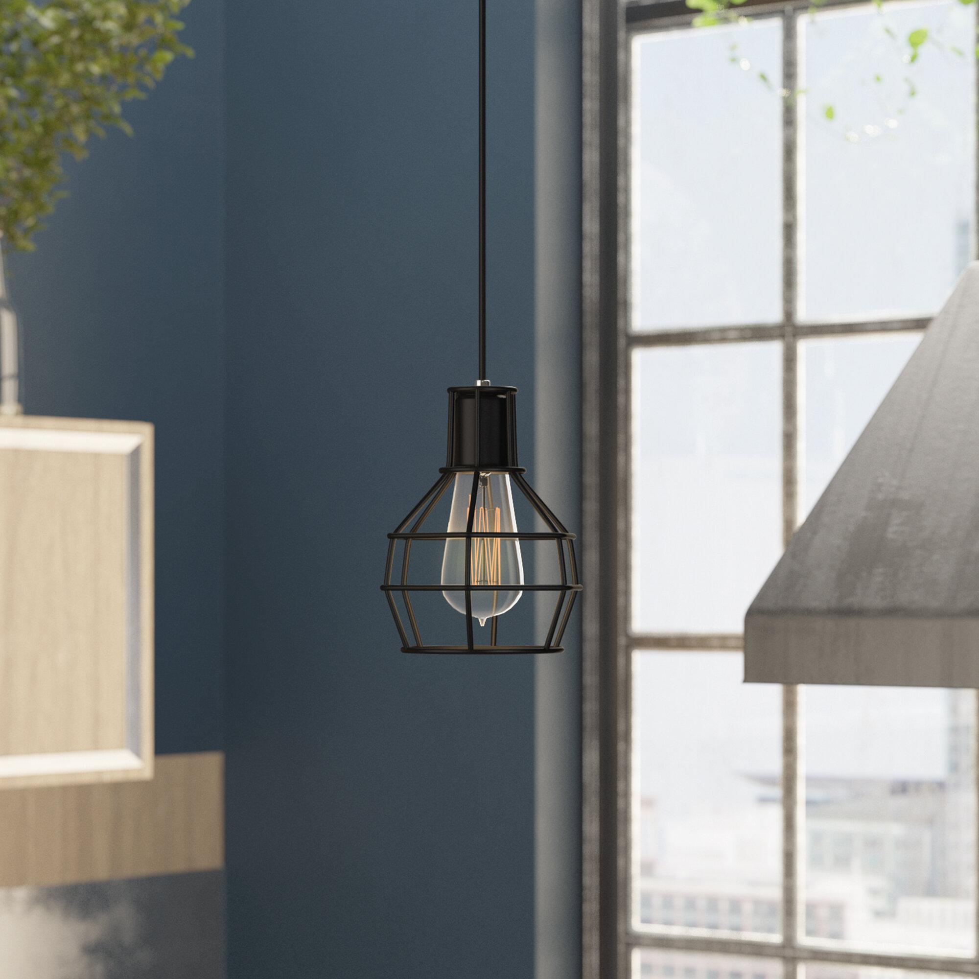 Trent Austin Design Kourtney 1 Light Single Geometric Pendant Reviews Wayfair Ca