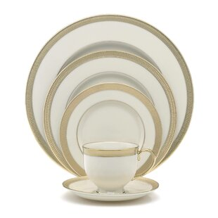 Lowell Bone China 5 Piece Place Setting, Service for 1