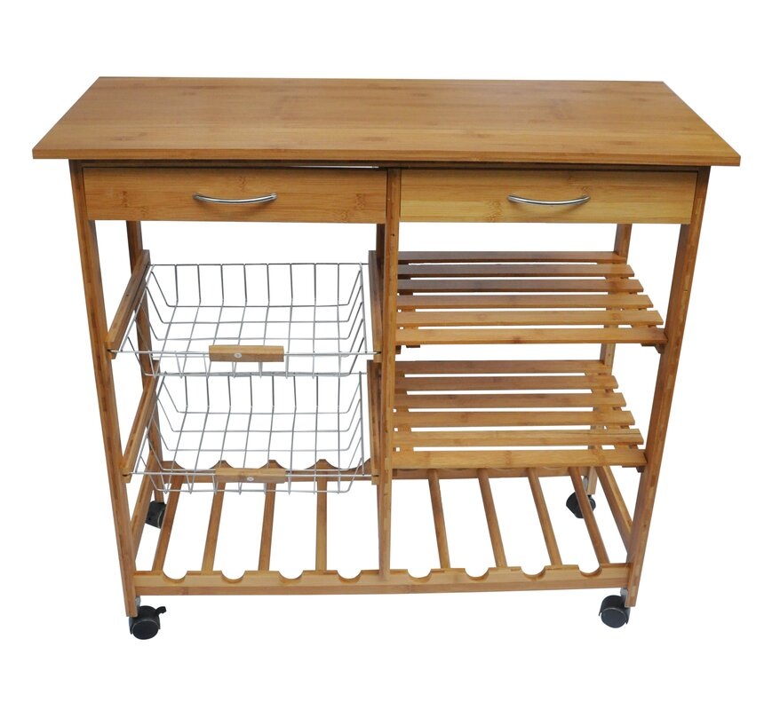 kitchen cart. Henriette Kitchen Cart Andover Mills  Reviews Wayfair