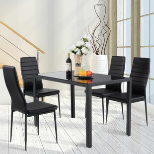 Edgeworth 5 Piece Dining Set Orren Ellis
