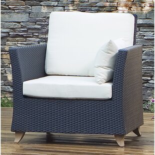 Deep Seating Arm Chair with Cushion